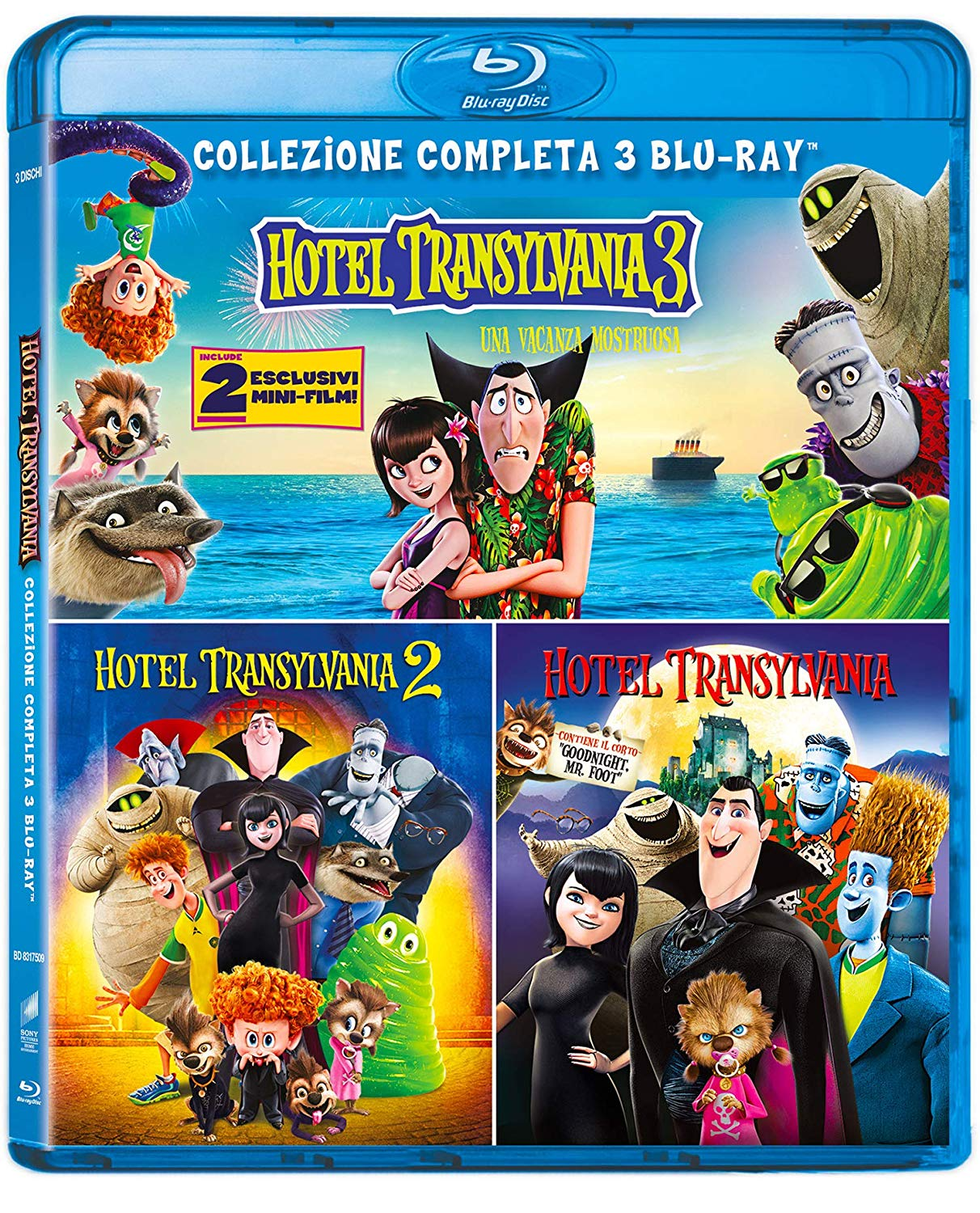 COF.HOTEL TRANSYLVANIA COLLECTION (3 BLU-RAY)