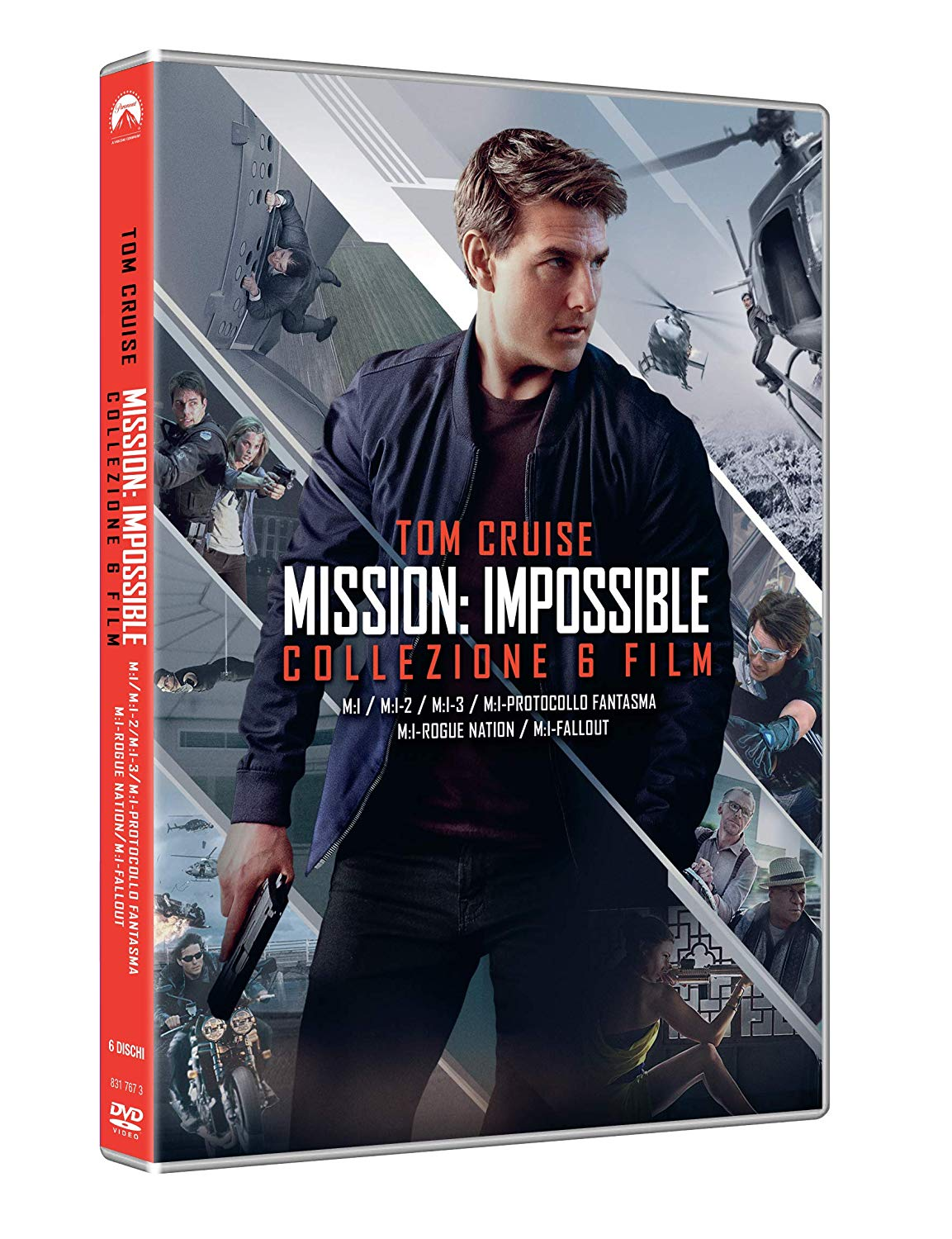 COF.MISSION IMPOSSIBLE COLLECTION (6 DVD) (DVD)