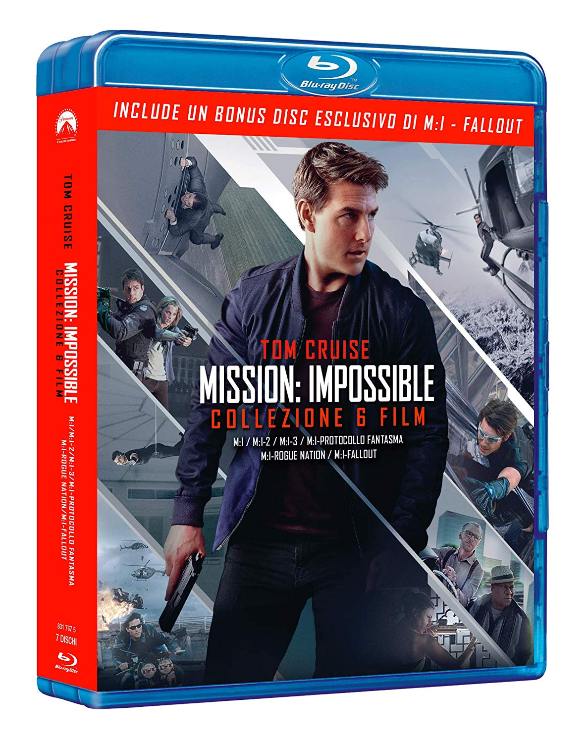 COF.MISSION IMPOSSIBLE COLLECTION (7 BLU-RAY)