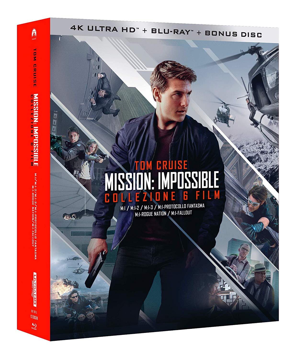 COF.MISSION IMPOSSIBLE COLLECTION (6 BLU-RAY 4K ULTRA HD+7 BLU-R