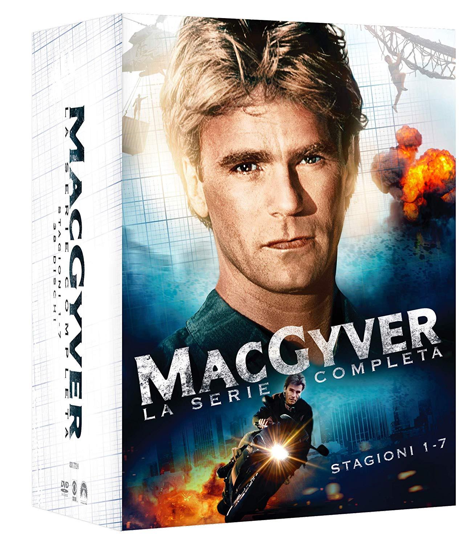 COF.MACGYVER - LA SERIE COMPLETA (38 DVD) (DVD)