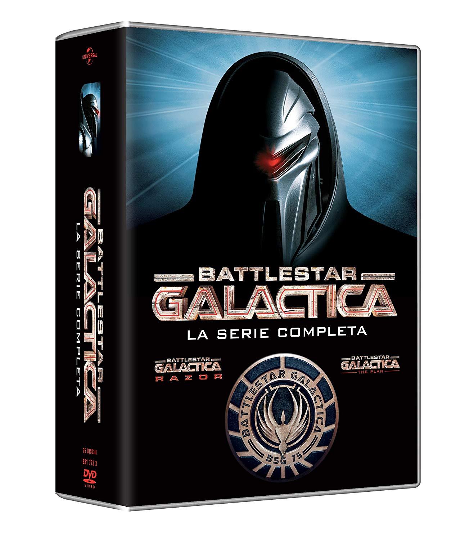 COF.BATTLESTAR GALACTICA - LA SERIE COMPLETA (ED 2018) (25 DVD)