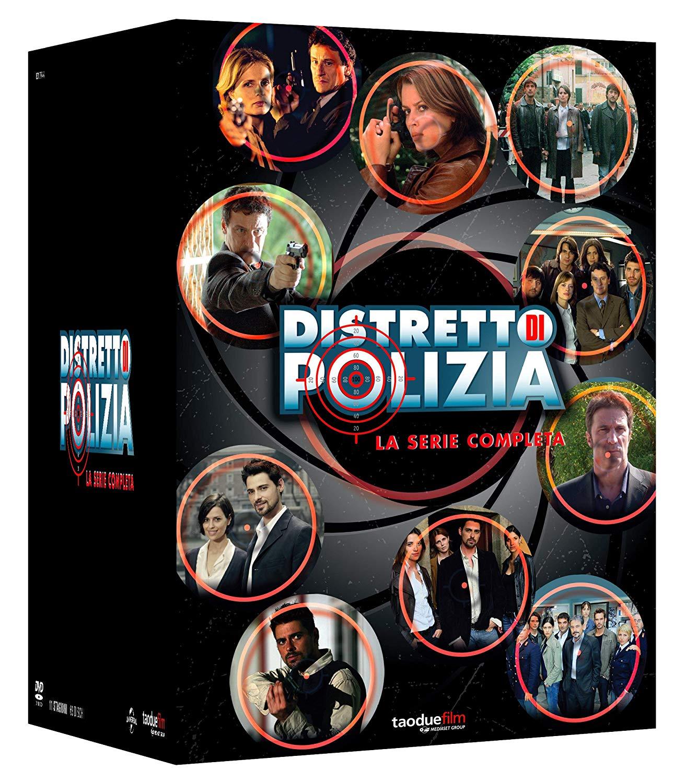 COF.DISTRETTO DI POLIZIA - LA SERIE COMPLETA (69 DVD) (DVD)