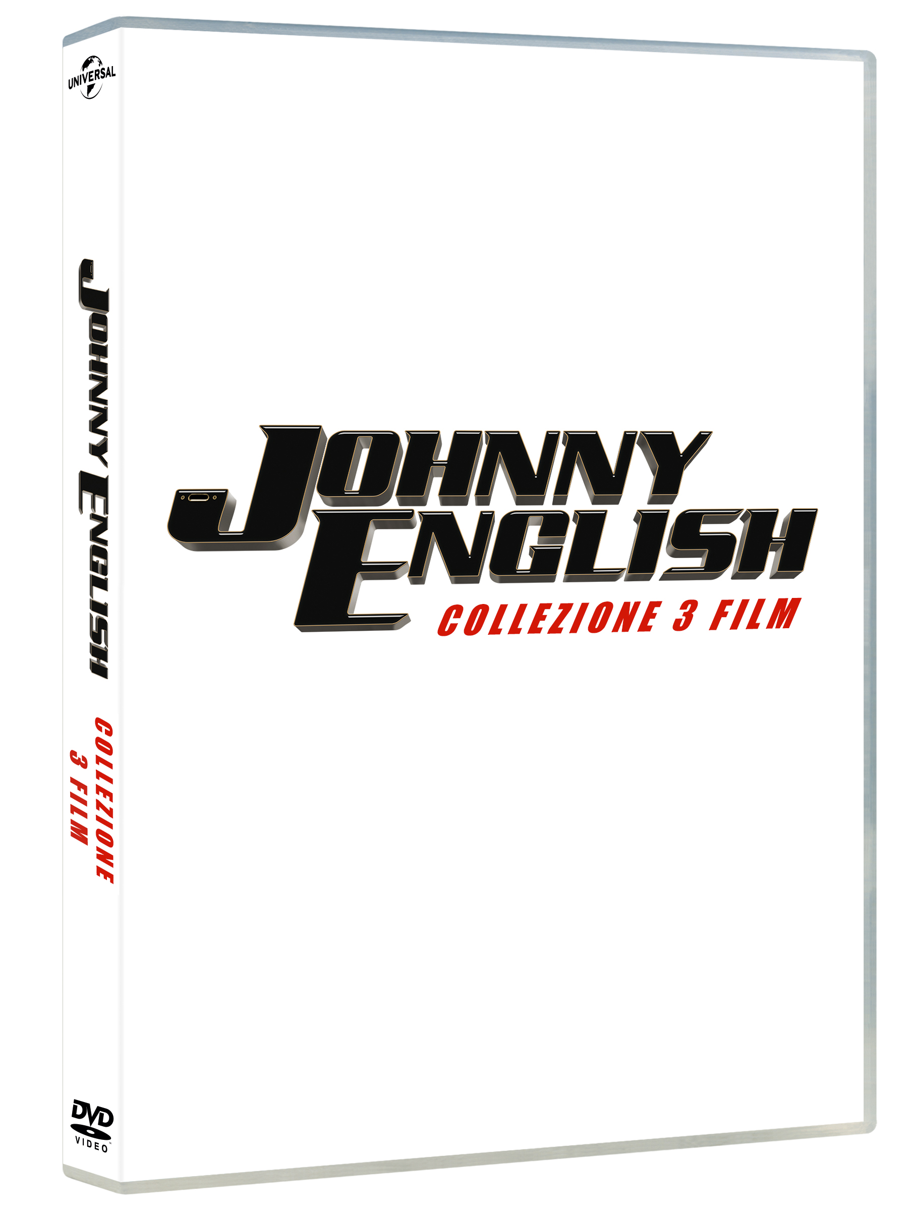 COF.JOHNNY ENGLISH 3 MOVIE COLLECTION (3 DVD) (DVD)