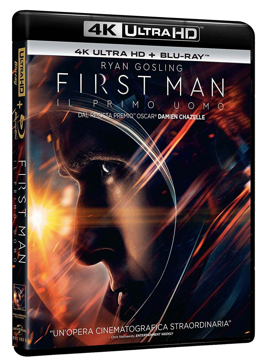 IL PRIMO UOMO - FIRST MAN (BLU-RAY 4K ULTRA HD+BLU-RAY)