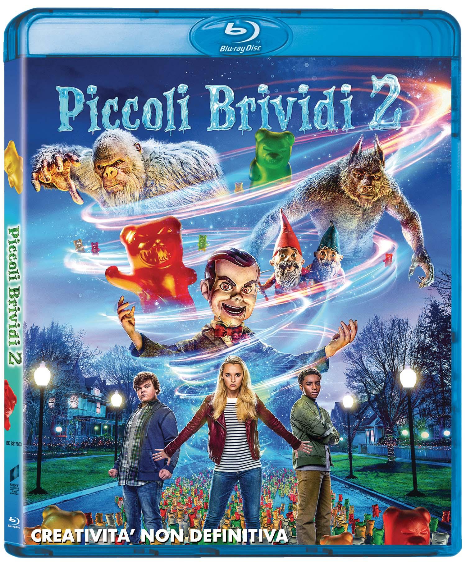PICCOLI BRIVIDI 2: I FANTASMI DI HALLOWEEN - BLU RAY