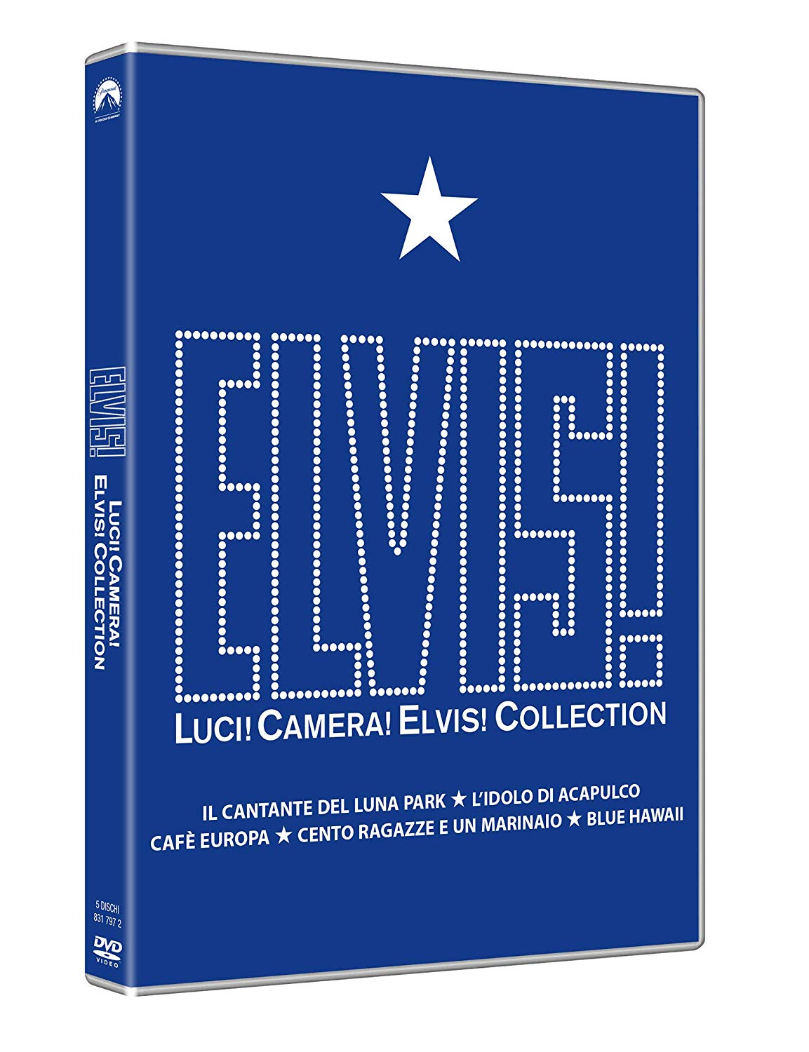 COF.ELVIS PRESLEY FILM COLLECTION (5 DVD) (DVD)