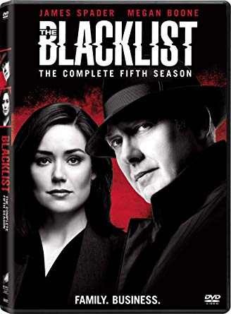 COF.THE BLACKLIST - STAGIONE 05 (5 DVD) (DVD)