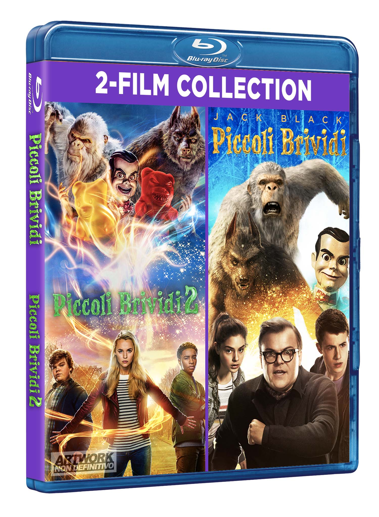 COF.PICCOLI BRIVIDI MOVIE COLLECTION (2 BLU RAY)