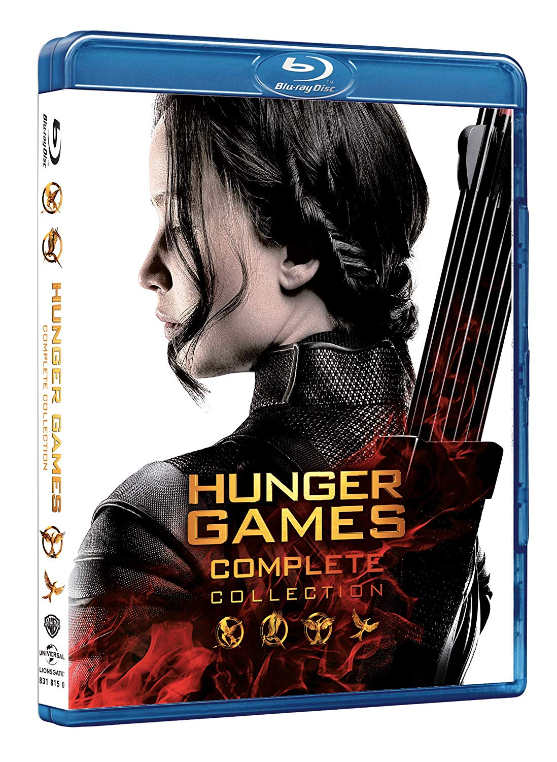 COF.HUNGER GAMES COLLECTION (4 BLU-RAY)