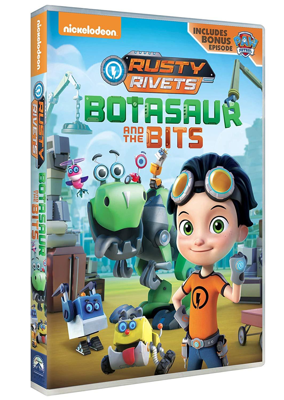 RUSTY RIVETS - JOBOT E I BIT (DVD)