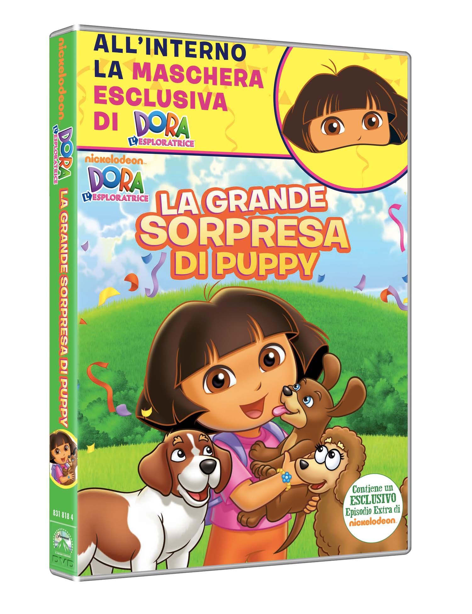 DORA L'ESPLORATRICE - LA GRANDE SORPRESA DI PUPPY (DVD+MASCHERA