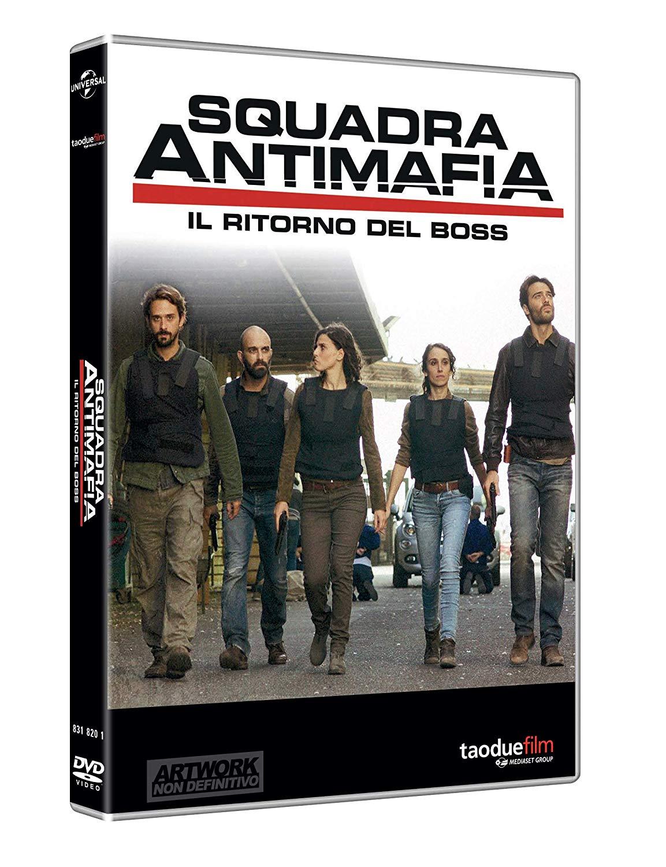 COF.SQUADRA ANTIMAFIA - STAGIONE 08 (10 DVD) (DVD)
