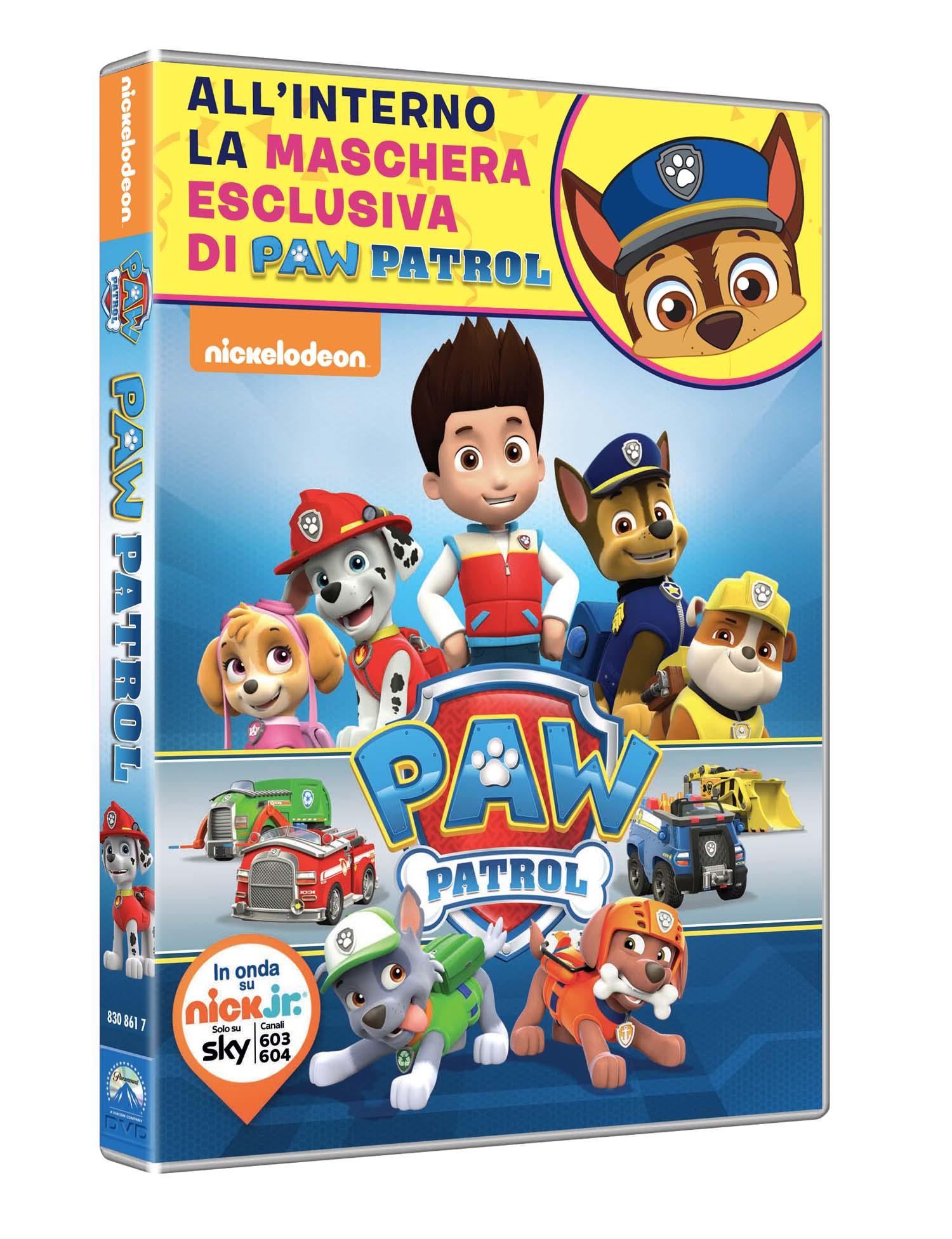 PAW PATROL (DVD + MASCHERA) (CARNEVALE COLLECTION) (DVD)