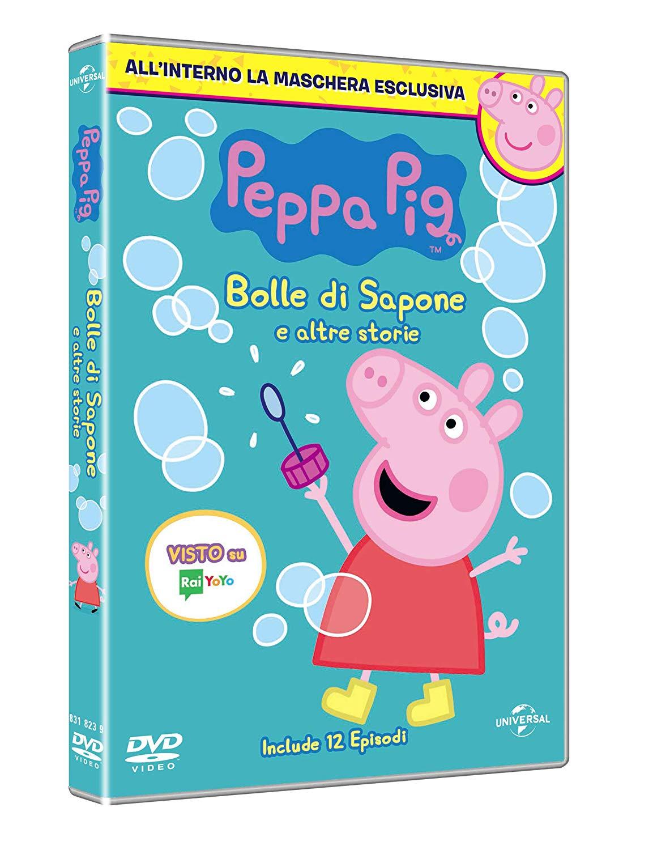 PEPPA PIG - BOLLE DI SAPONE (DVD+MASCHERA) (CARNEVALE COLLECTION