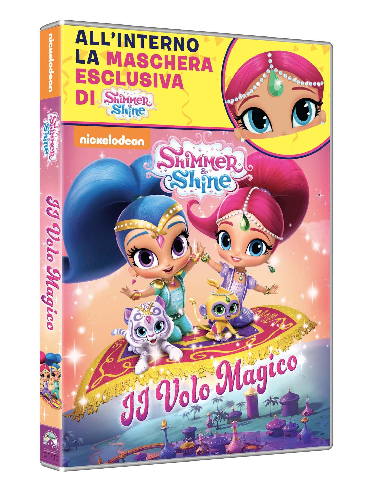 SHIMMER AND SHINE - IL VOLO MAGICO (DVD+MASCHERA) (CARNEVALE COL
