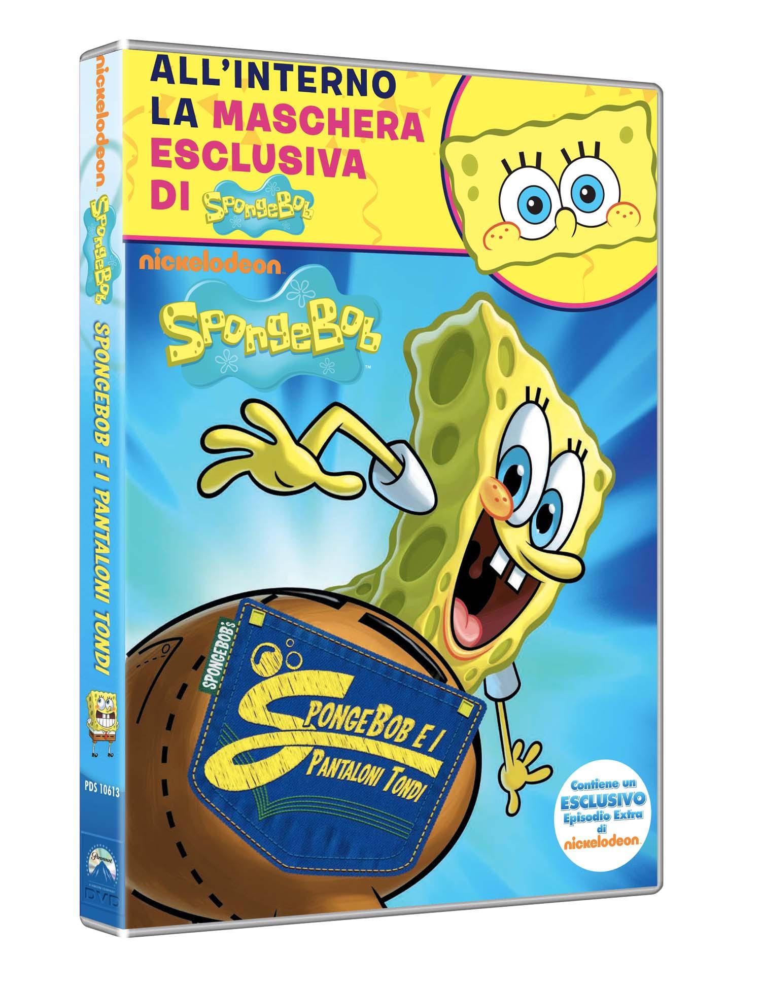 SPONGEBOB - I PANTALONI TONDI (DVD+MASCHERA) (CARNEVALE COLLECTI