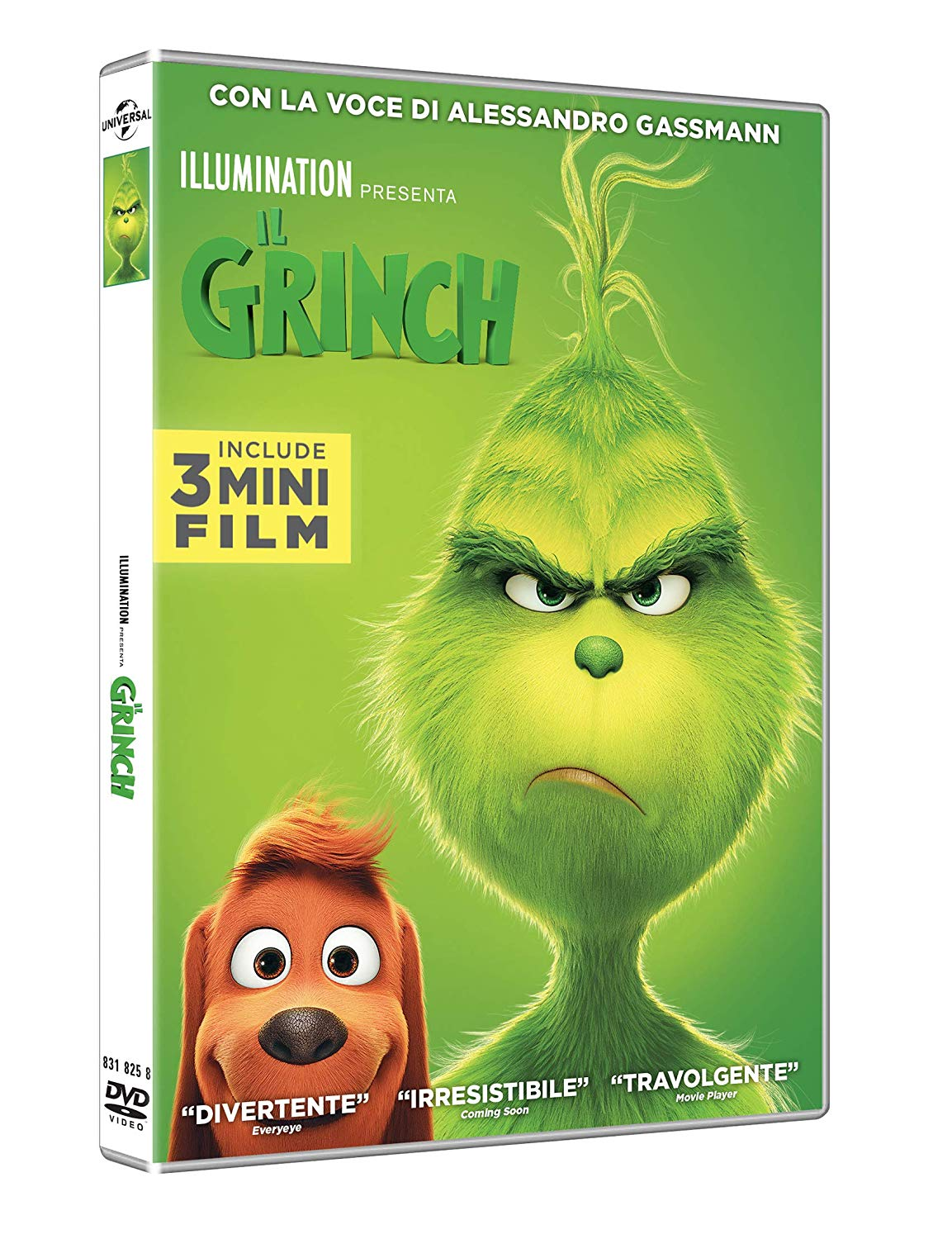 IL GRINCH - 2018 (DVD)