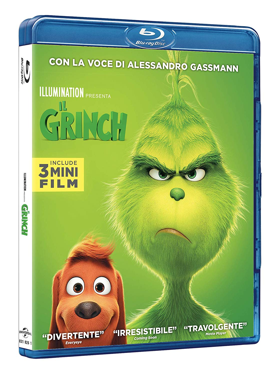 IL GRINCH - BLU RAY