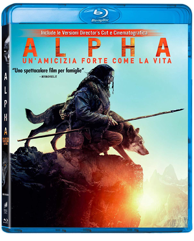 ALPHA - UN'AMICIZIA FORTE COME LA VITA - BLU RAY