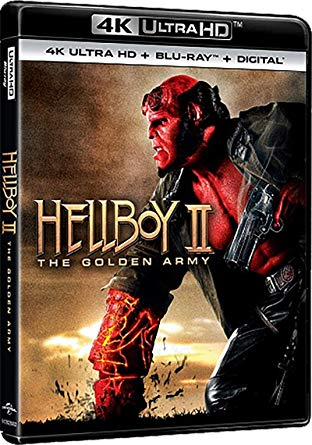 HELLBOY - THE GOLDEN ARMY (4K UHD+BLU-RAY)
