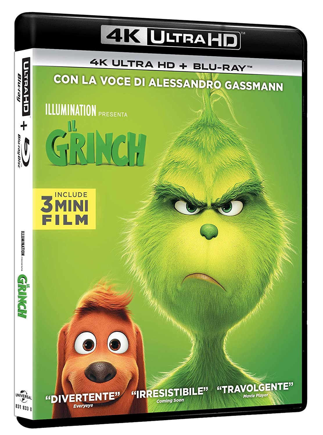IL GRINCH (BLU-RAY 4K ULTRA HD+BLU-RAY) - 2018