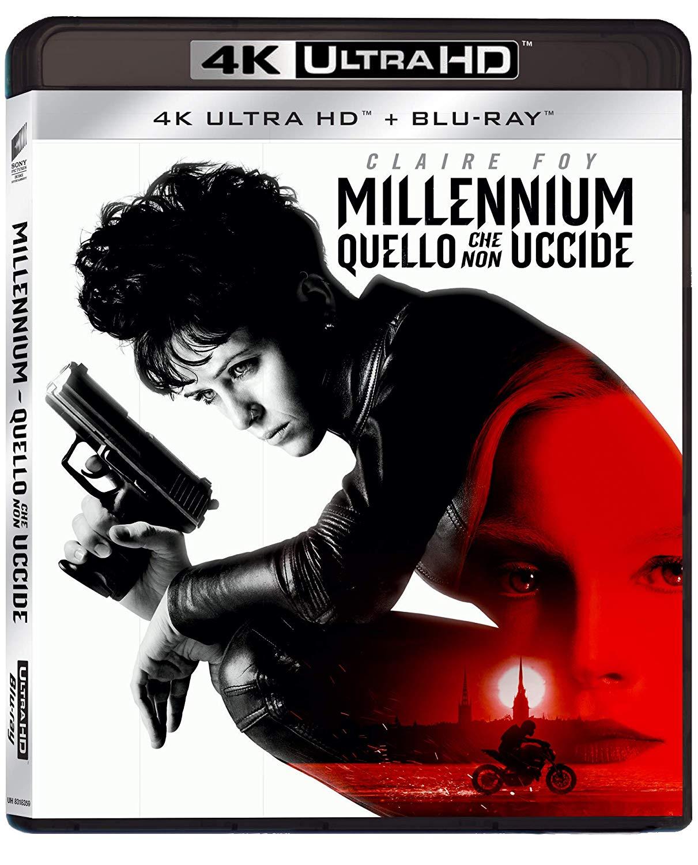 MILLENNIUM - QUELLO CHE NON UCCIDE (4K UHD+BLU-RAY)