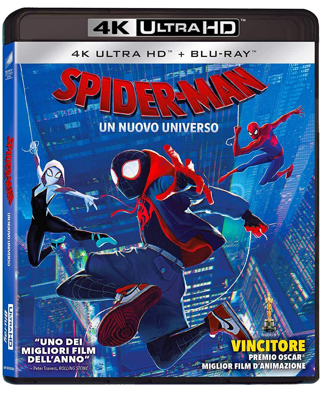 SPIDER-MAN UN NUOVO UNIVERSO (4K UHD + BLU-RAY) (2 DISCHI)