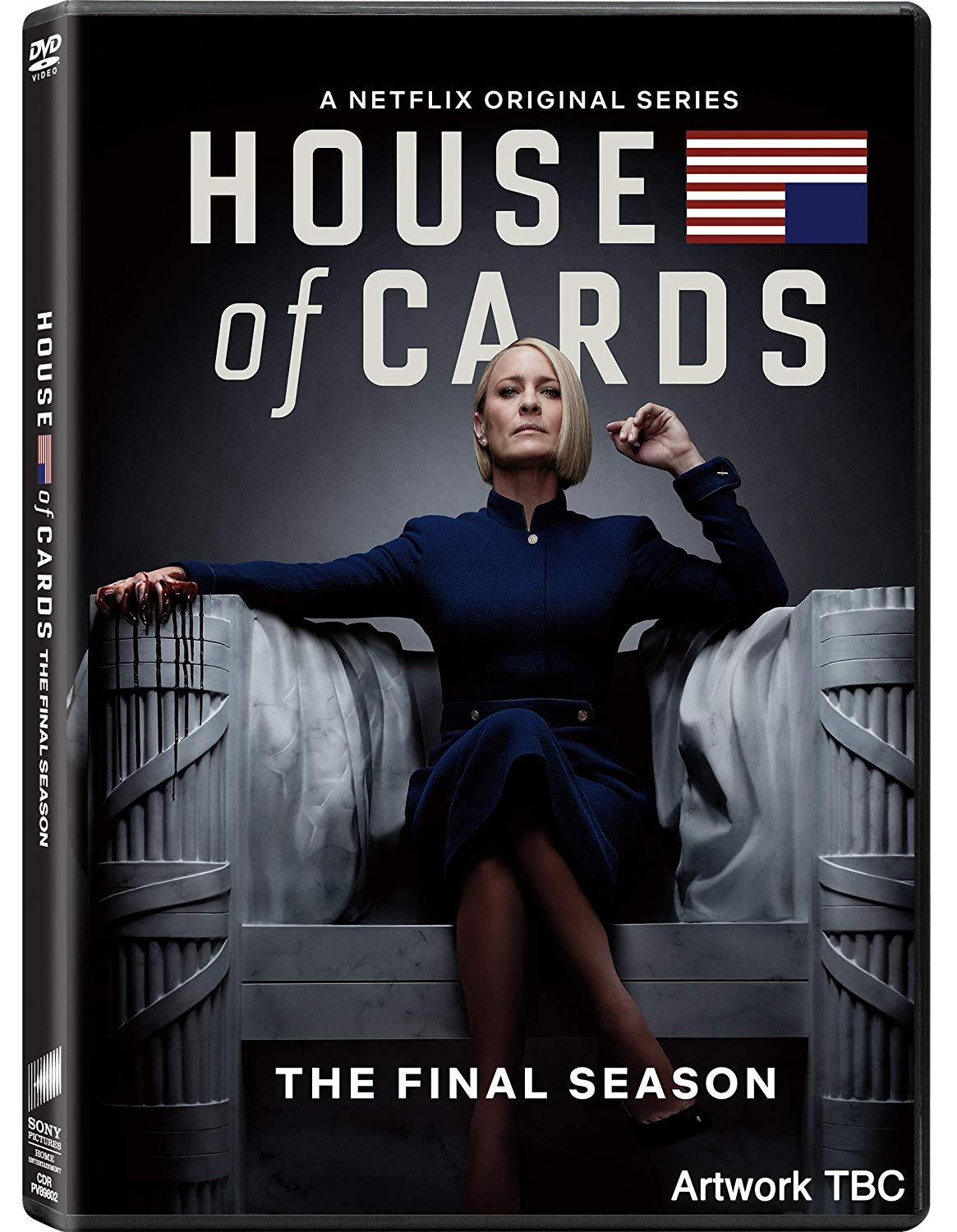 COF.HOUSE OF CARDS - STAGIONE 06 (3 DVD) (DVD)