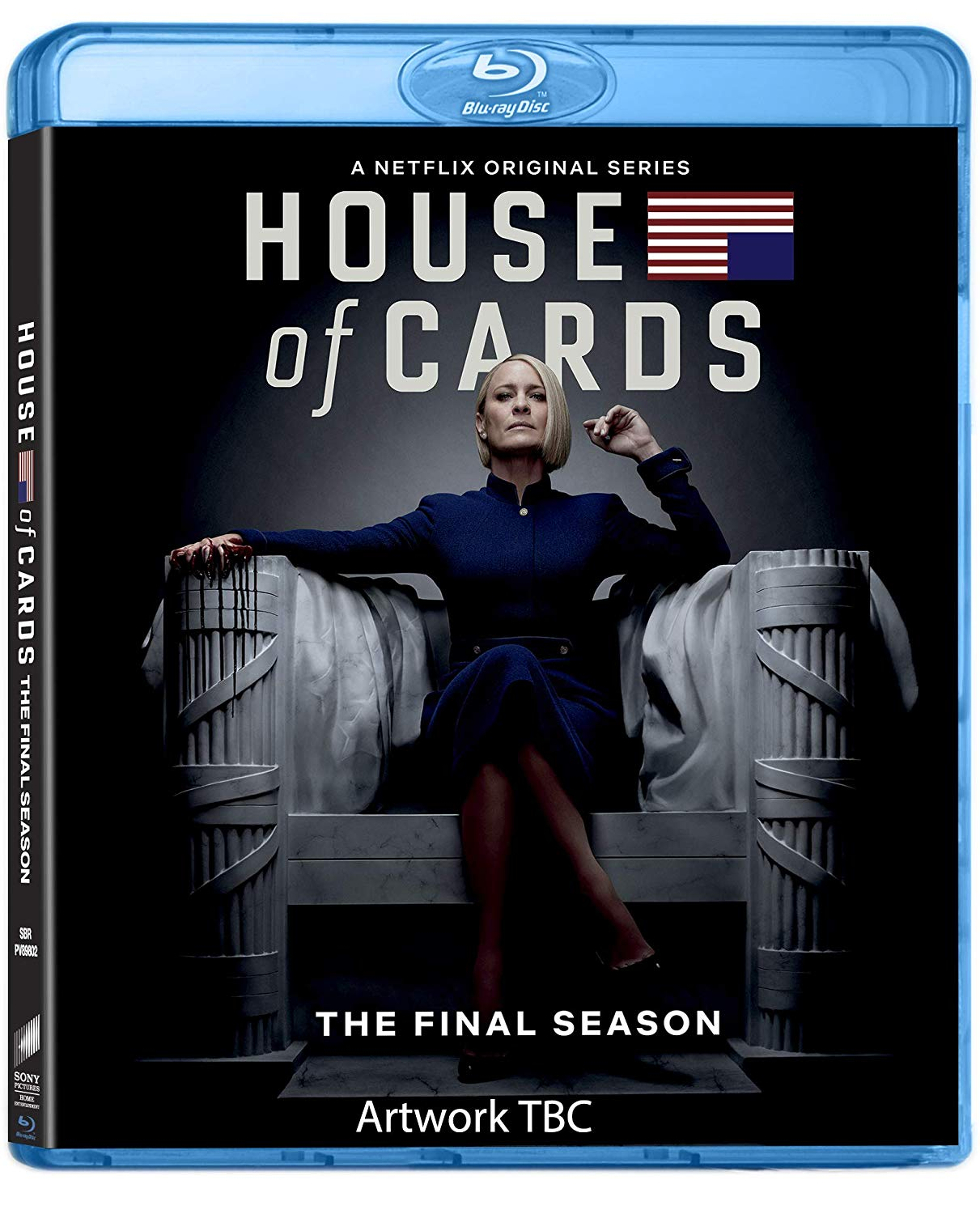 COF.HOUSE OF CARDS - STAGIONE 06 (3 BLU-RAY)