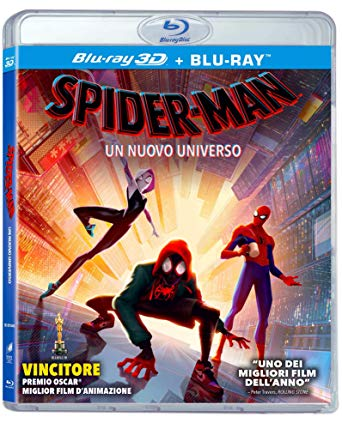 SPIDER-MAN - UN NUOVO UNIVERSO (BLU-RAY 3D+BLU-RAY)