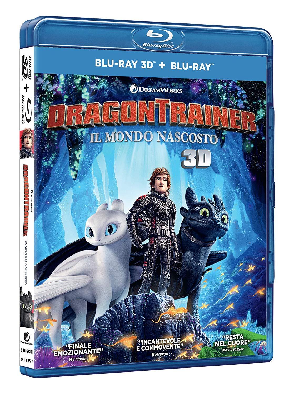 DRAGON TRAINER 3 - IL MONDO NASCOSTO - (BLU-RAY 3D+BLU-RAY)