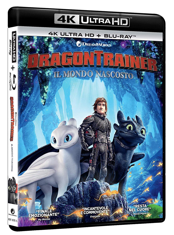 DRAGON TRAINER 3 - IL MONDO NASCOSTO -(4K UHD+BLU-RAY)
