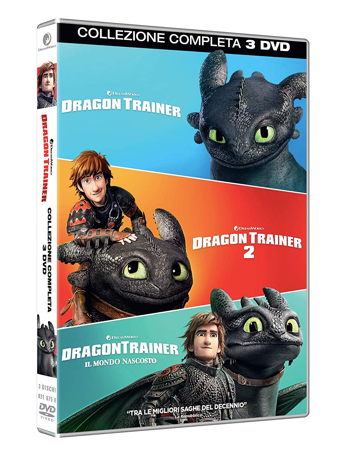 COF.DRAGON TRAINER COLLECTION 1-3 (3 DVD) (DVD)