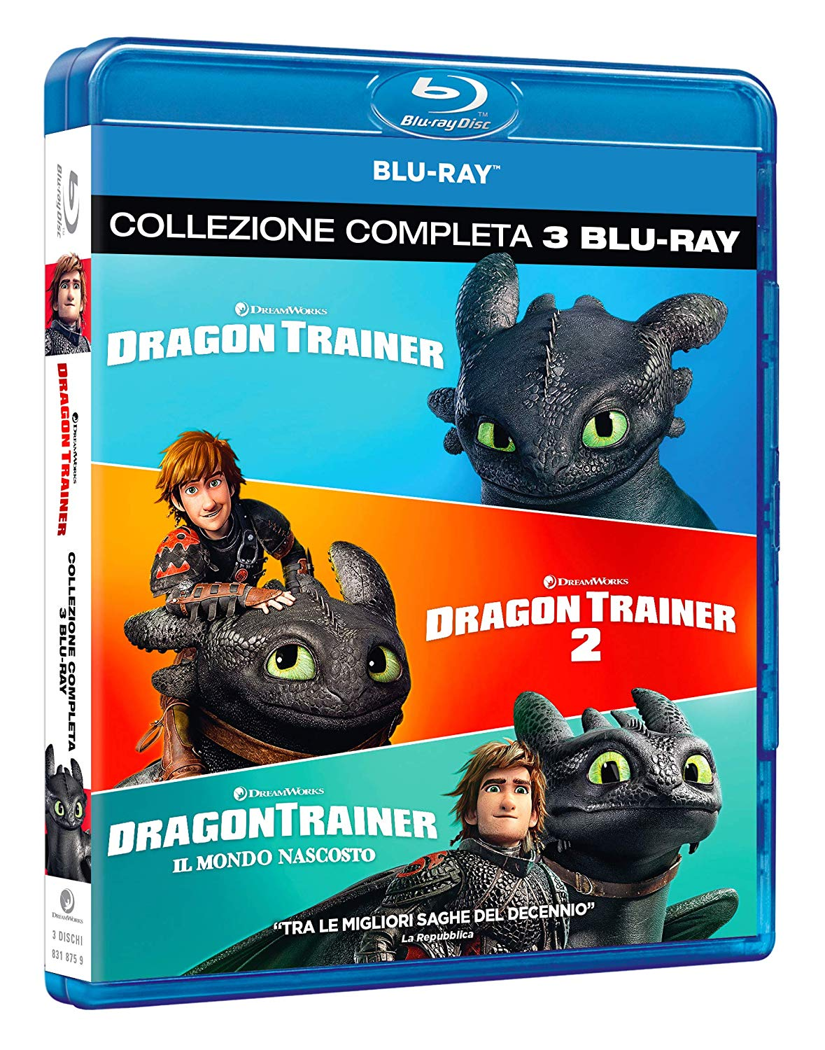 COF.DRAGON TRAINER COLLECTION 1-3 (3 BLU-RAY)