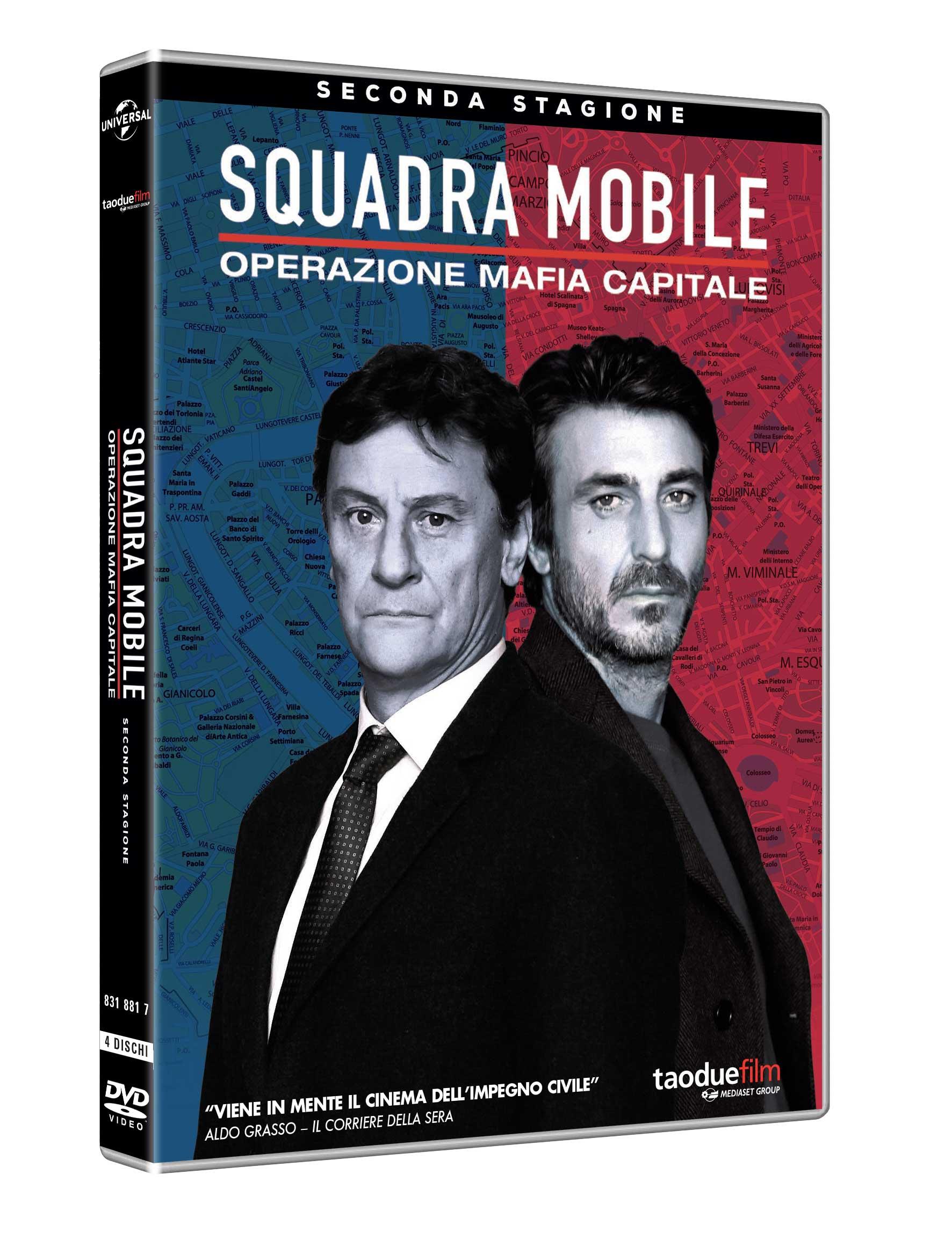 COF.SQUADRA MOBILE - STAGIONE 02 (3 DVD) (DVD)