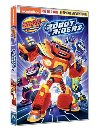 BLAZE E LE MEGA MACCHINE - ROBOT RIDERS (DVD)
