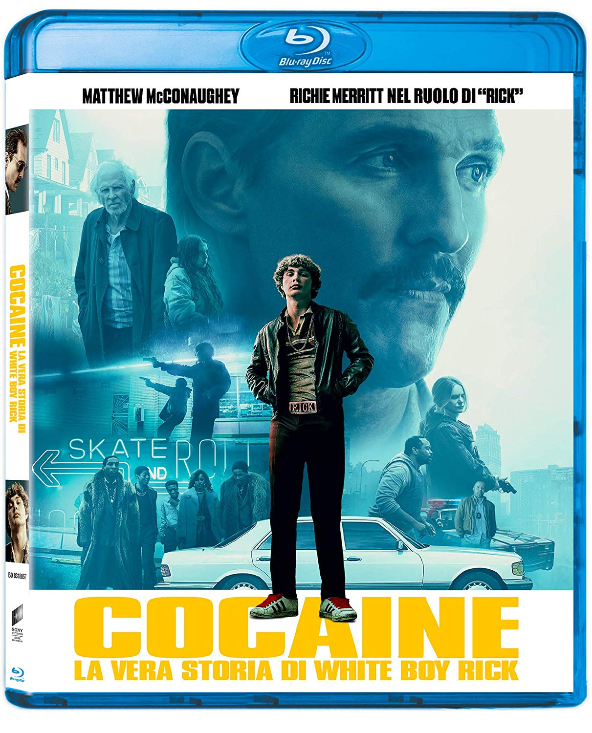 COCAINE: LA VERA STORIA DI WHITE BOY RICK - BLU RAY