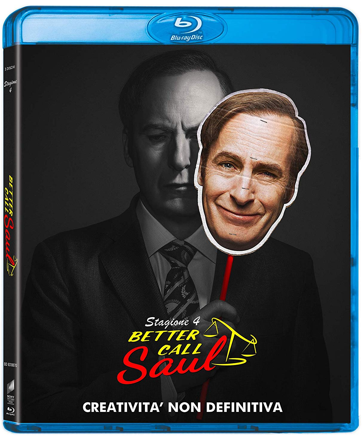 COF.BETTER CALL SAUL - STAGIONE 04 (3 BLU-RAY)