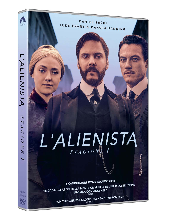 COF.L'ALIENISTA - STAGIONE 01 (4 DVD) (DVD)