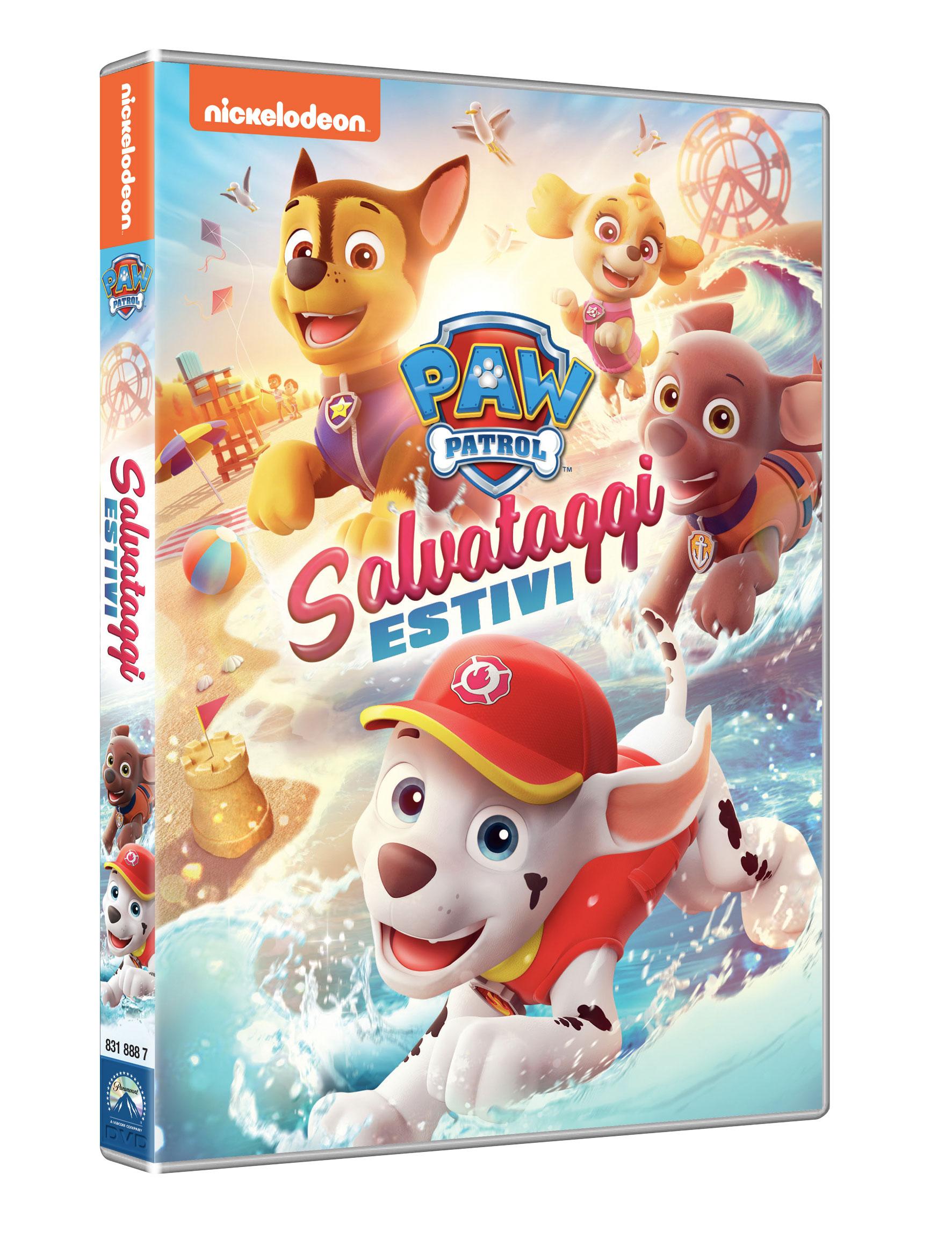 PAW PATROL - SALVATAGGI ESTIVI (DVD)