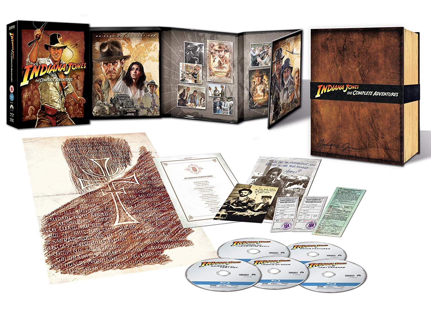 COF.INDIANA JONES - THE COMPLETE ADVENTURE - COLLECTOR'S EDITION