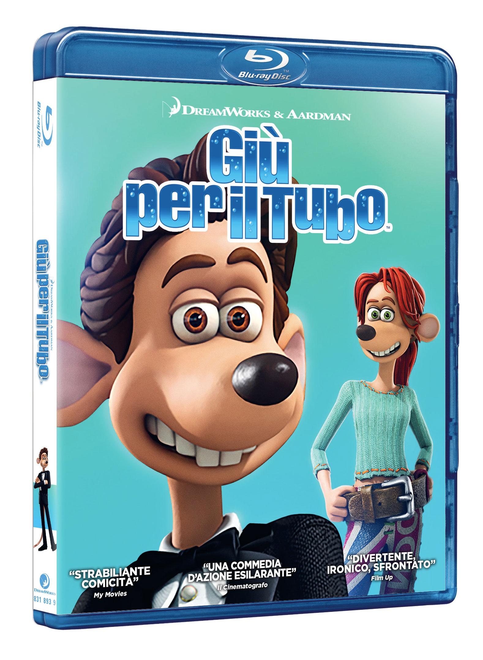 GIU' PER IL TUBO - BLU RAY
