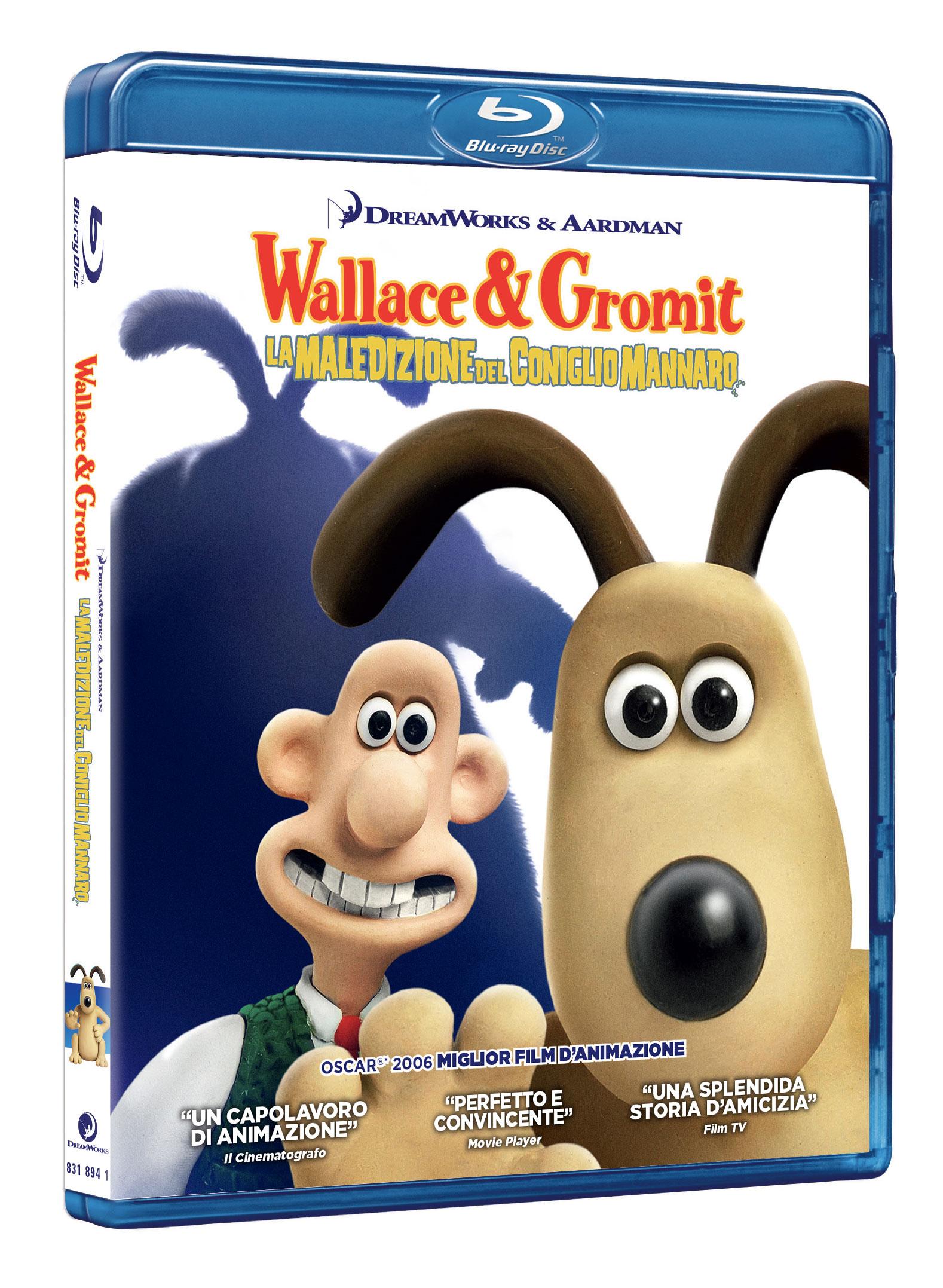 WALLACE & GROMIT - LA MALEDIZIONE DEL CONIGLIO MANNARO - BLU RAY