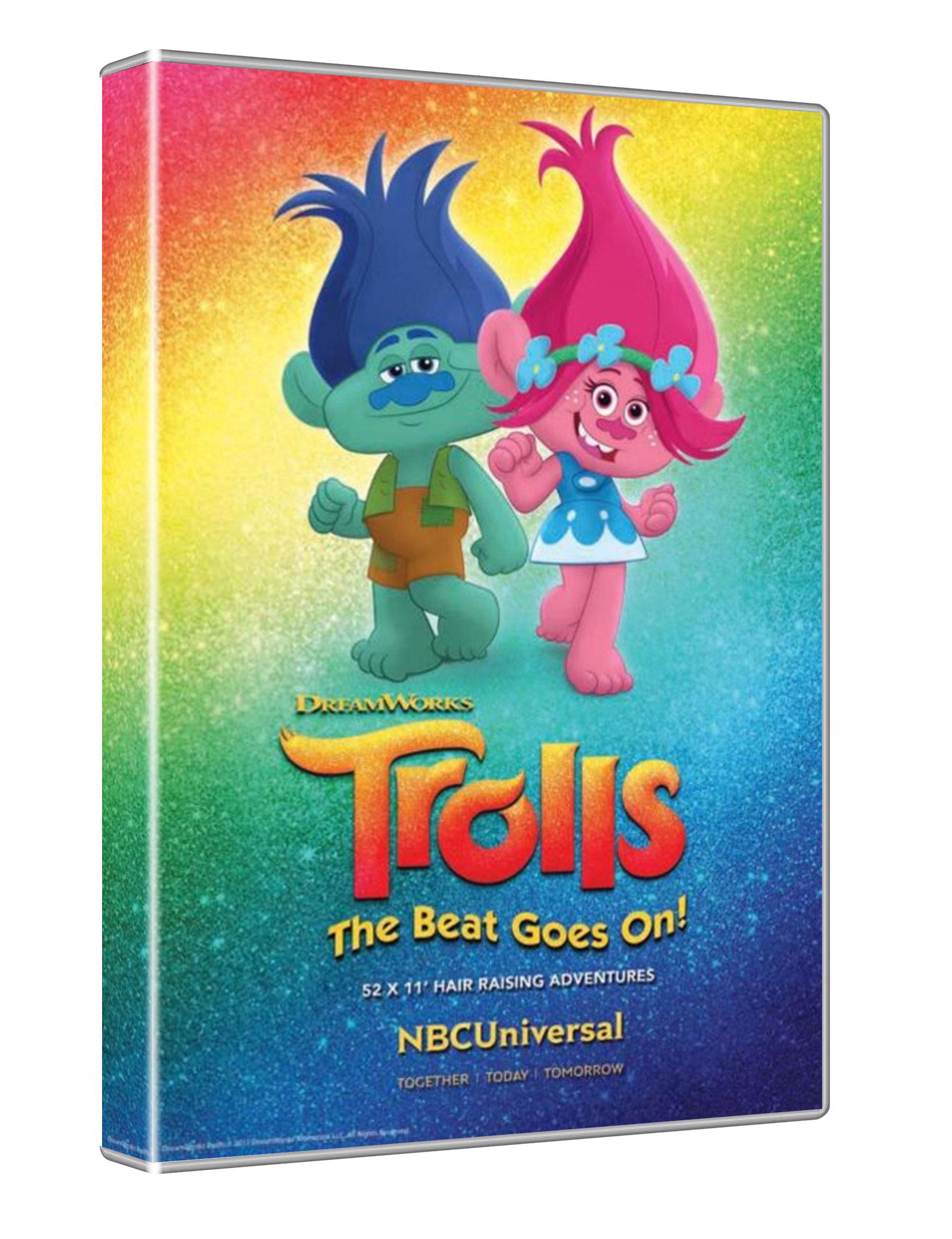 TROLLS: LA FESTA CONTINUA - STAGIONE 01 (DVD)