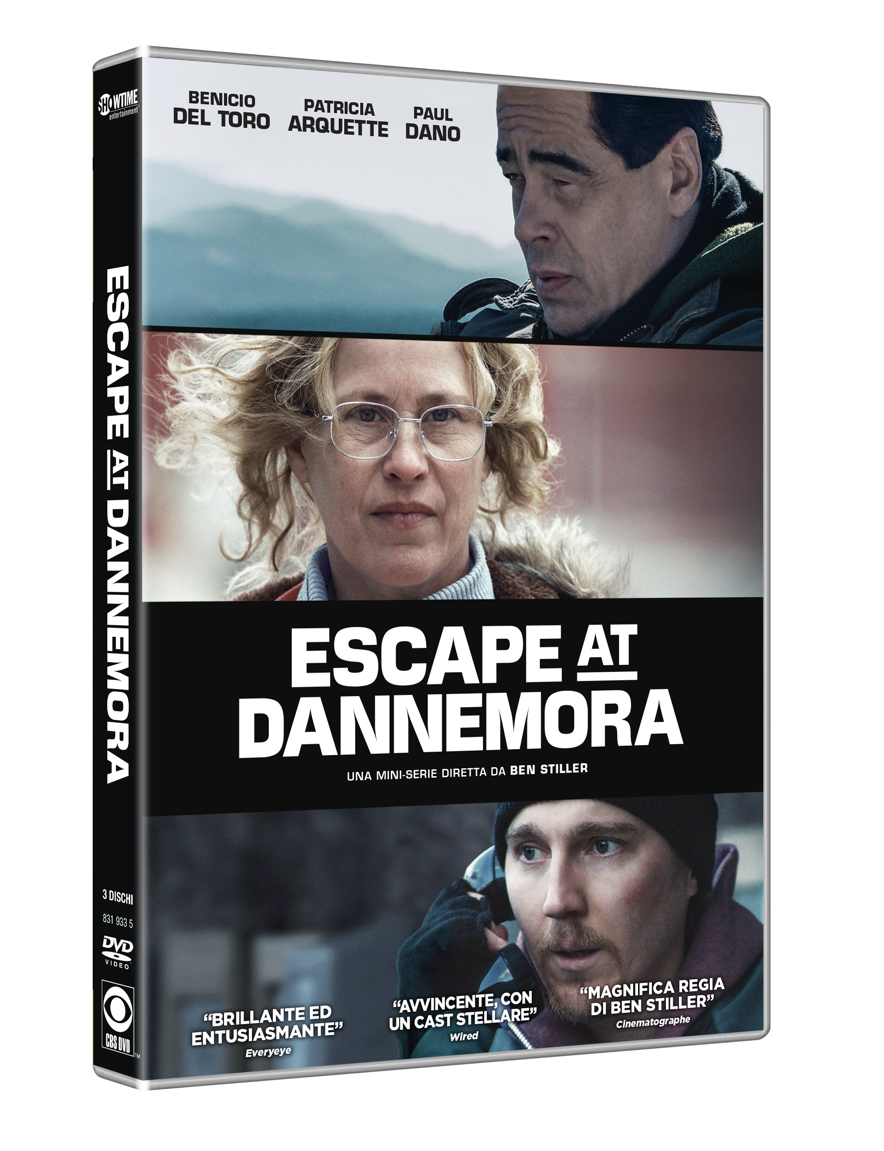 COF.ESCAPE AT DANNEMORA - STAGIONE 01 (3 DVD) (DVD)