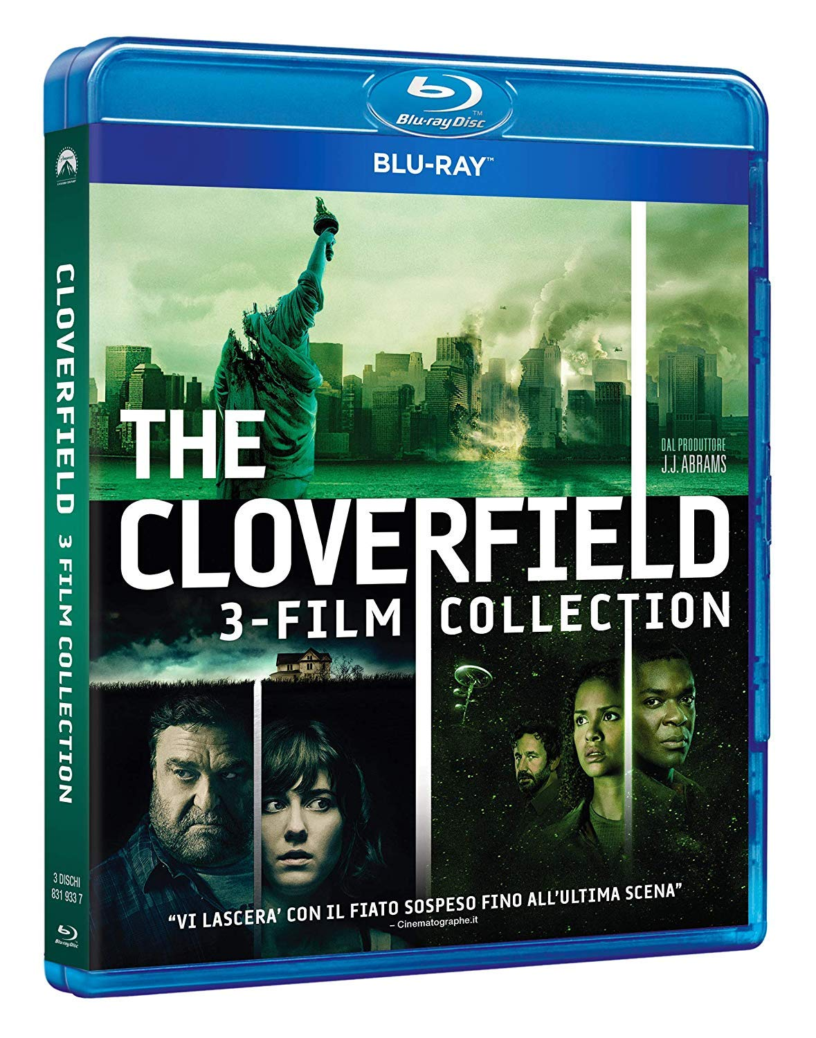 COF.CLOVERFIELD COLLECTION (3 BLURAY)