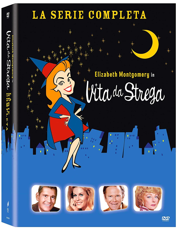 COF.VITA DA STREGA - COLLEZIONE COMPLETA STAGIONE 01-08 (34 DVD)