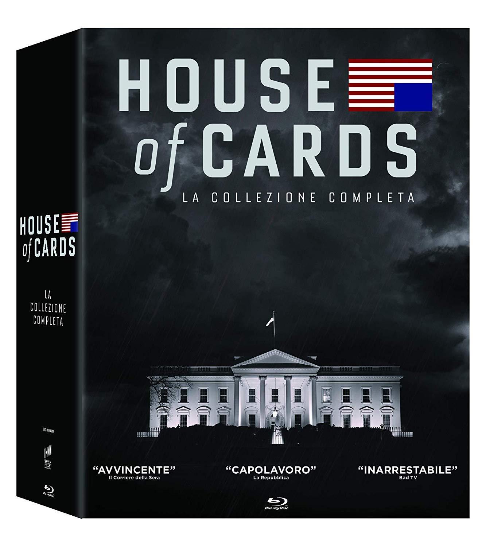 COF.HOUSE OF CARDS - COLLEZIONE COMPLETA STAGIONE 01-06 (23 DVD)