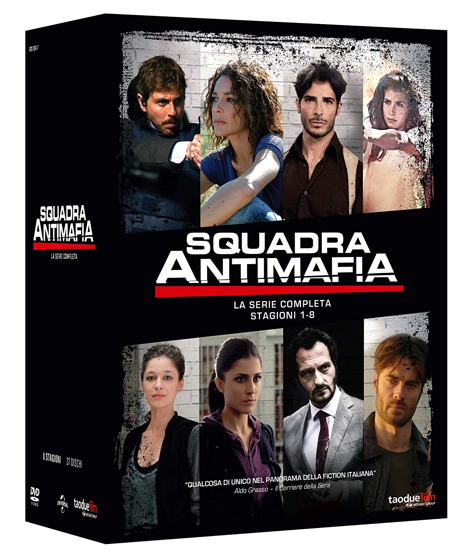 COF.SQUADRA ANTIMAFIA - COLLEZIONE COMPLETA STAGIONE 01-08 (37 D